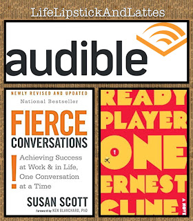 Audible, Ready Player One, Fierce Conversations