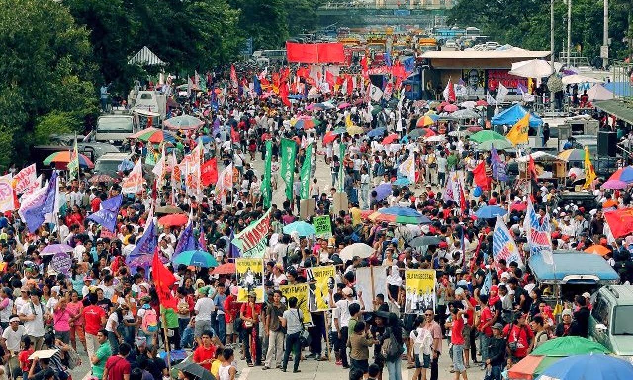 SONA Protesters