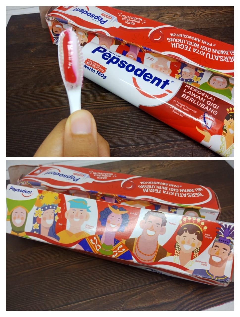 pepsodent merdekakan senyum indonesia, pepsodent edisi merah putih