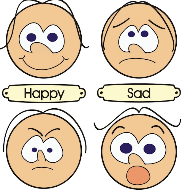Teaching preschoolers to manage emotions - free printable