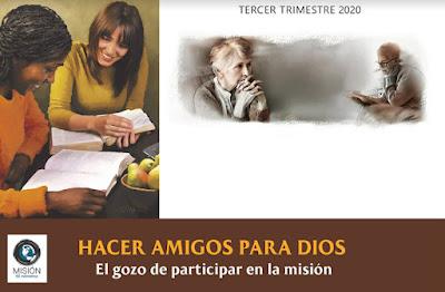 Presentaciones de Escuela Sabática   Misión 50 Milímetros   3er Trimestre 2020   Hacer amigos para Dios
