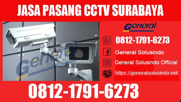 Jasa Pasang CCTV Sukomanunggal Surabaya