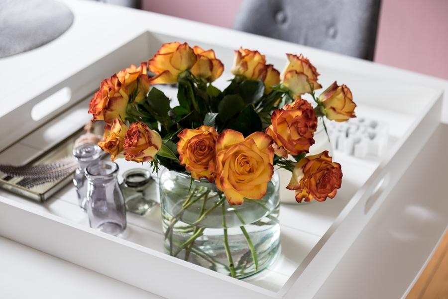 fim.works | Fotografie. Leben. Wohnen. | Floristik | Orangefarbene Rosen
