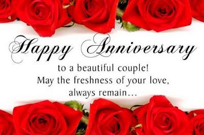 Ucapan Happy Anniversary, Happy Anniversary Wish,