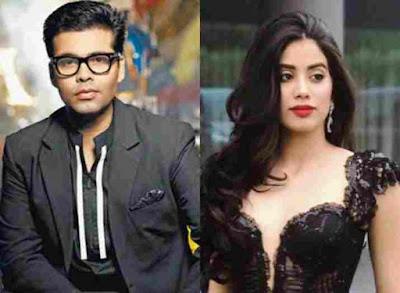 Janhvis third film will also be produced by Karan Johar
