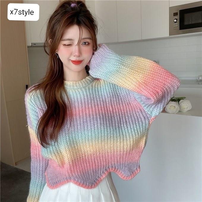 Áo len tay dài - X7FAL10