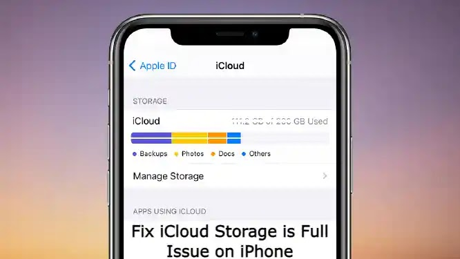How to Fix iCloud Storage is Full Issue on iPhone