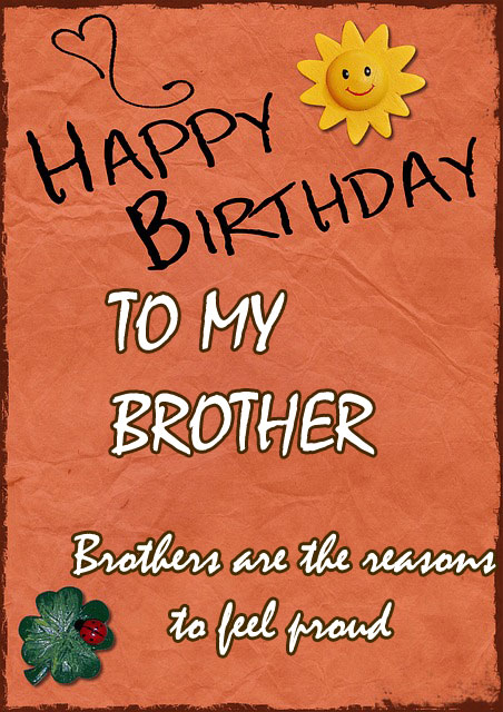 happy birthday brother images hd