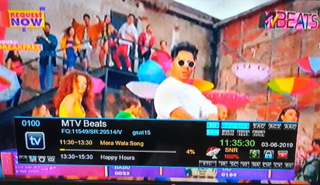 MTV Beats on DD Freedish