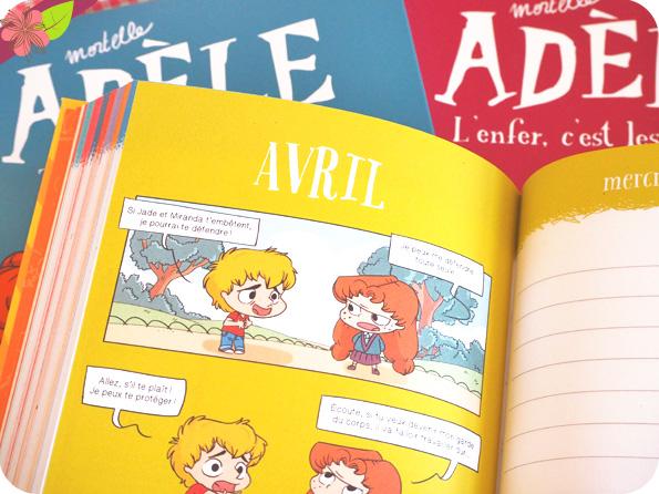 Son agenda Mortelle Adèle 2019-2020