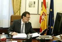 Ο Ισπανός πρωθυπουργός Μαριάνο Ραχόι