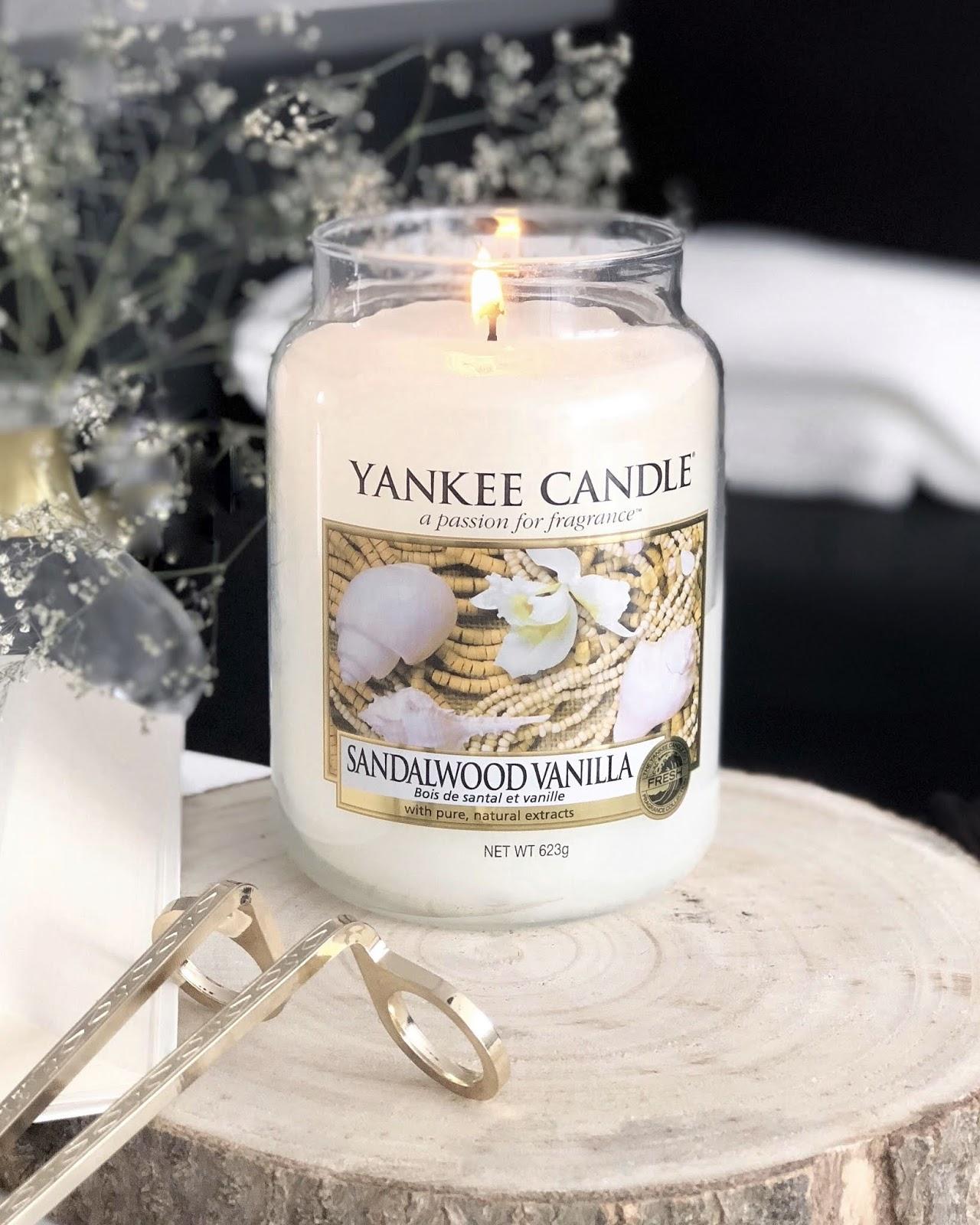 Sandalwood Vanilla - limitowana świeca Yankee Candle