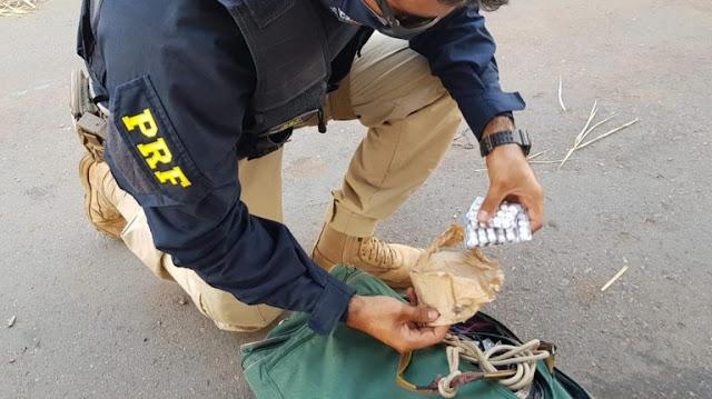 Caminhoneiro é preso em posse de comprimidos de anfetamina na BR 304 no RN