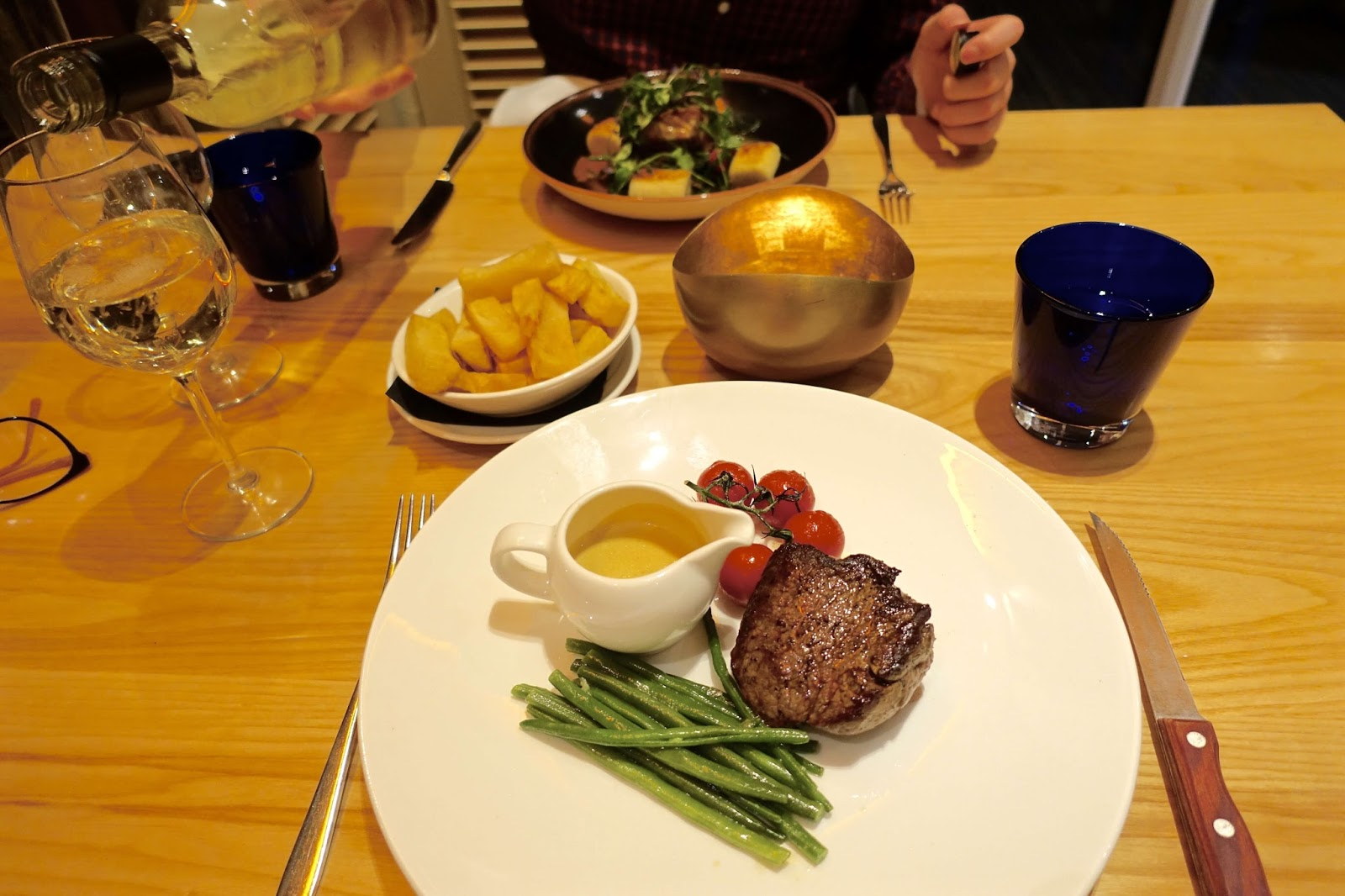 fillet steak at the brudenell