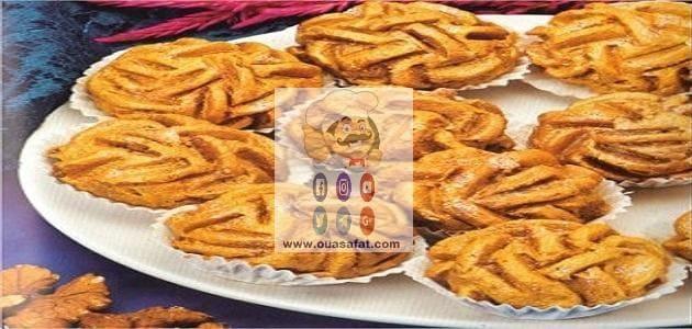 حلوى وردة الرمال الجزائرية