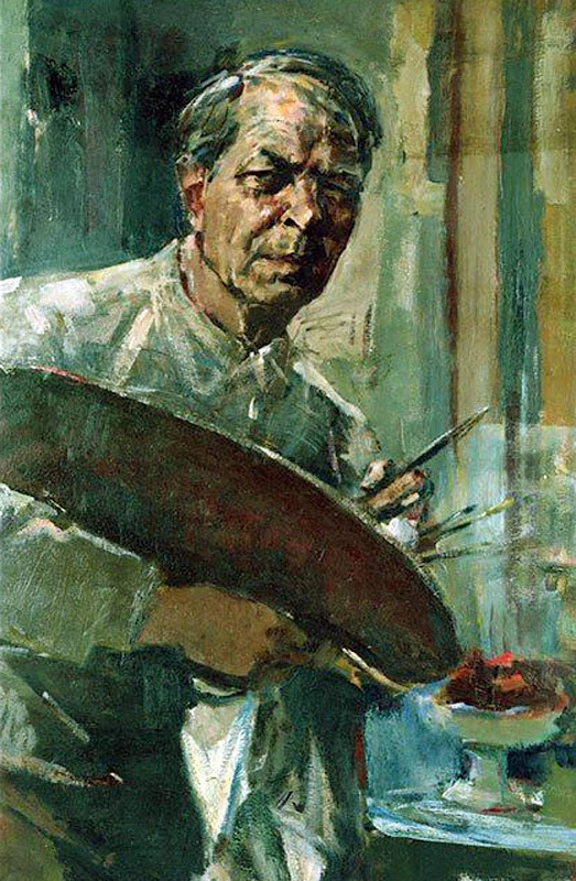 Sierk Schröder, Self Portrait, Portraits of Painters, Fine arts, Portraits of painters blog, Paintings of Sierk Schröder, Painter Sierk Schröder