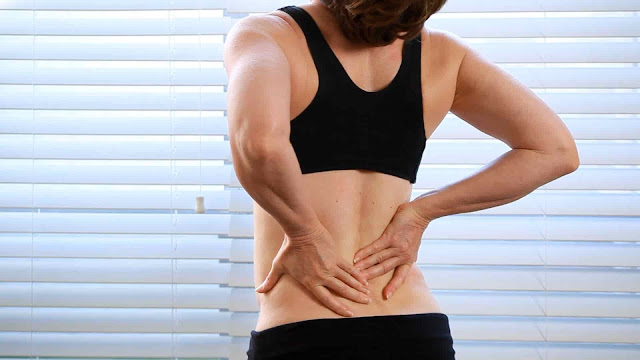 Backache inflammatory conditions