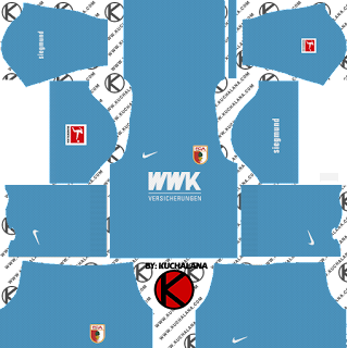FC Augsburg Kits 2019/2020 -  Dream League Soccer Kits