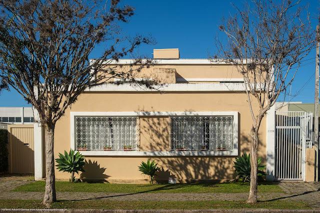 Caso cujo desenho da fachada é um retângulo dentro de outro retângulo