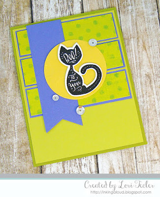 Boo to You card-designed by Lori Tecler/Inking Aloud-stamps from Lil' Inker Designs