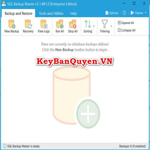 Bán key bản quyền SQL Backup Master Standard , Pro , Site và Enterprise.