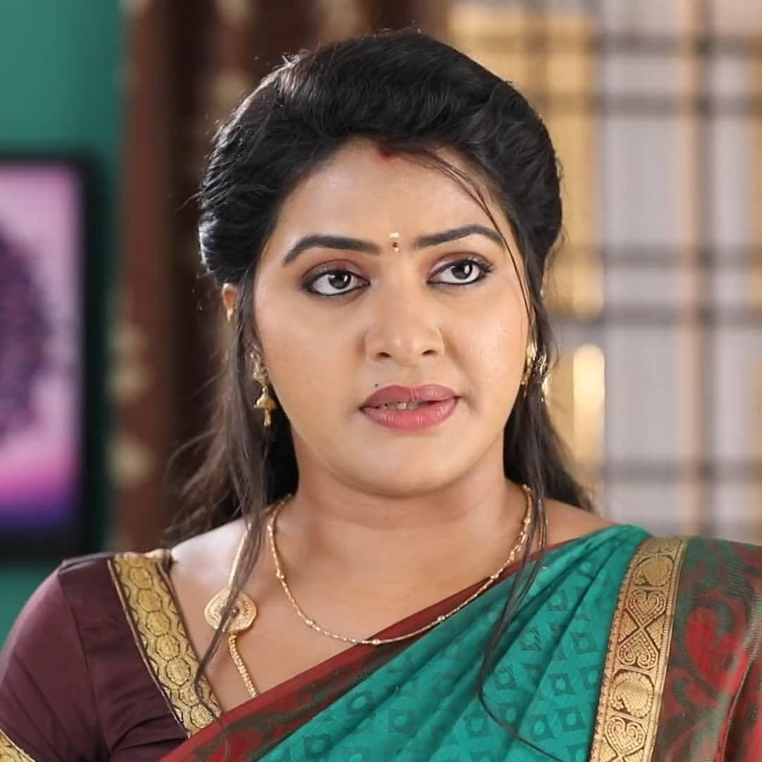 Rachitha mahalakshmi cute Expression, Hot TV Actress Tamil 8