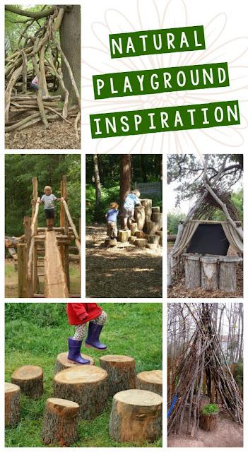 Natural Playground Inspiration {Organic Playgrounds ...