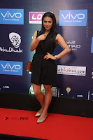 Actress Shraddha Srinath Stills in Black Short Dress at SIIMA Short Film Awards 2017 .COM 0011.JPG