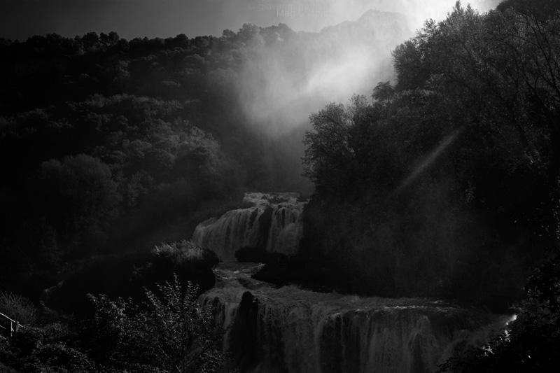 Foto della cascata delle Marmore