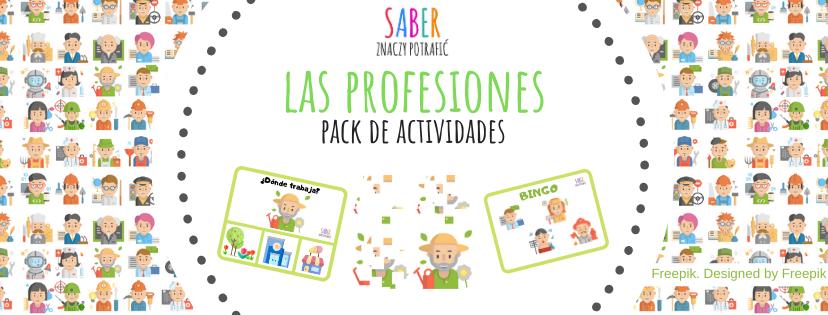 LAS PROFESIONES: pack de actividades para niños | ZAWODY: dla dzieci