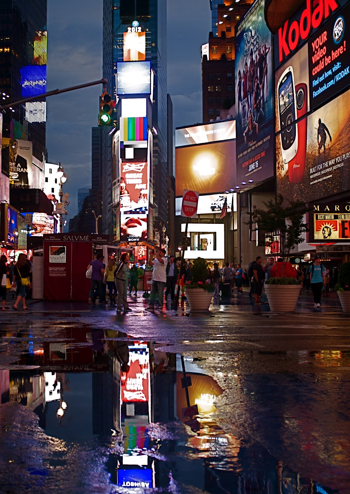 Cornell Hospital Nyc >> NYC ♥ NYC: Times Square After The Rain
