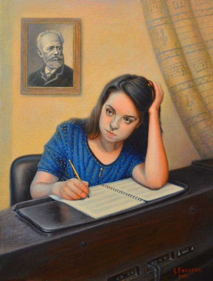 Портрет композитора. Степан Каширин