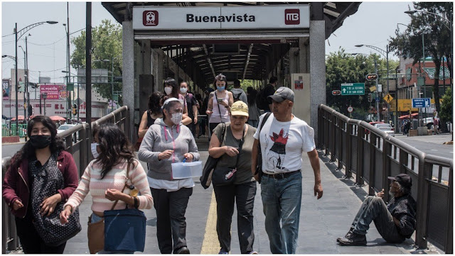 1,351 muertos por coronavirus en México y 14 mil 677 contagiados