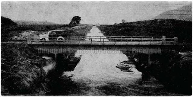Estrada Rio-Petrópolis na década de 40 - Foto: Acervo: Dep.Nacional de obras de Saneamento