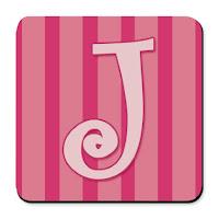 Gold Letter J Cake Topper