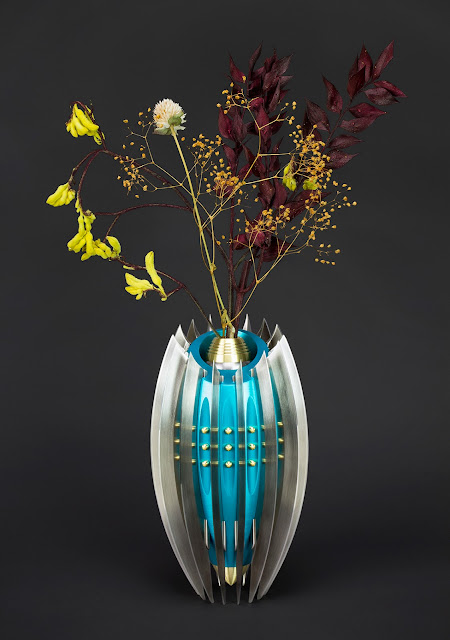 Sculptural Knife Vase