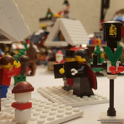 LEGO Winter Village carol singers