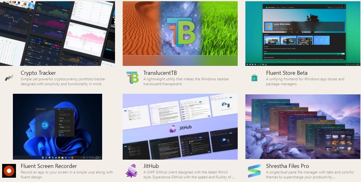 Launch 2021 di UWP Community | Nuove App UWP per Windows