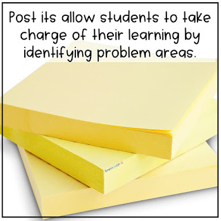 Make students responsible and reflective by thinking about what they need to know to succeed in the classroom.