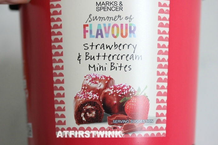 Marks & Spencer Strawberry & Buttercream Mini Bites