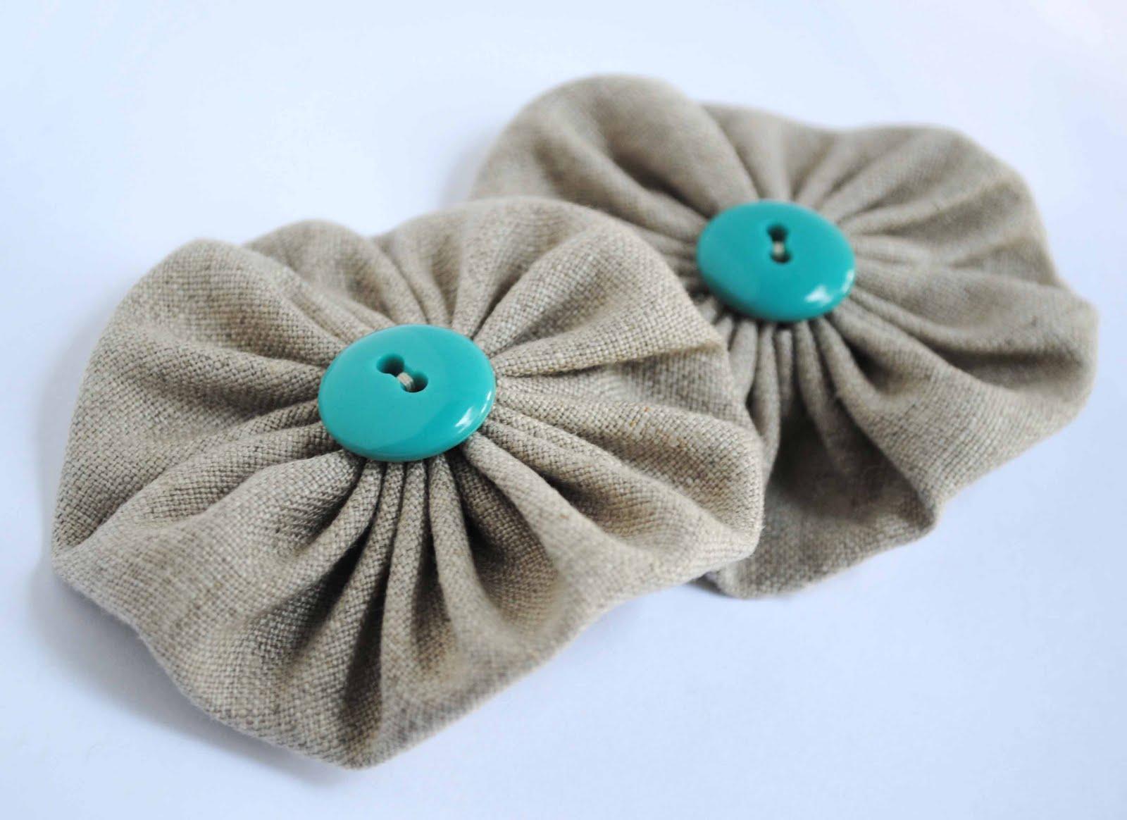 Fabric Yo-Yo Coin Purse Tutorial