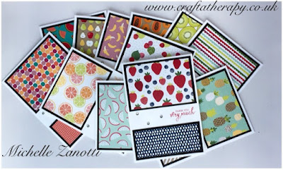stampin' up! UK paper Bunch of Blossoms celebrate dsp friend spring summer catalogue thank you tutti frutti