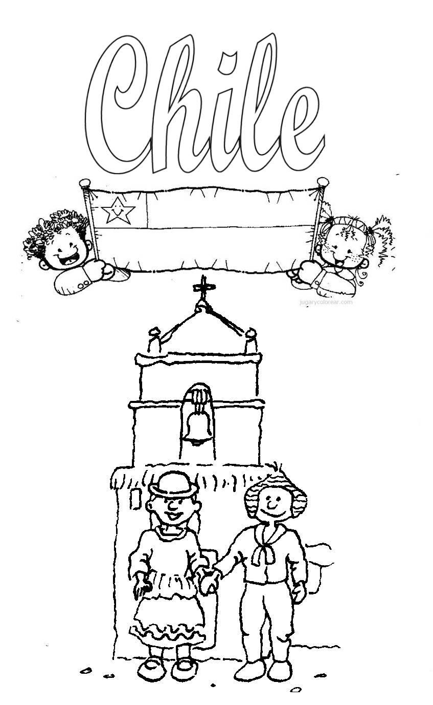 Con chilena celebrando fiestas patrias - 1 part 4