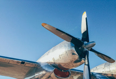 Aeroplane Propellers Photography Focus