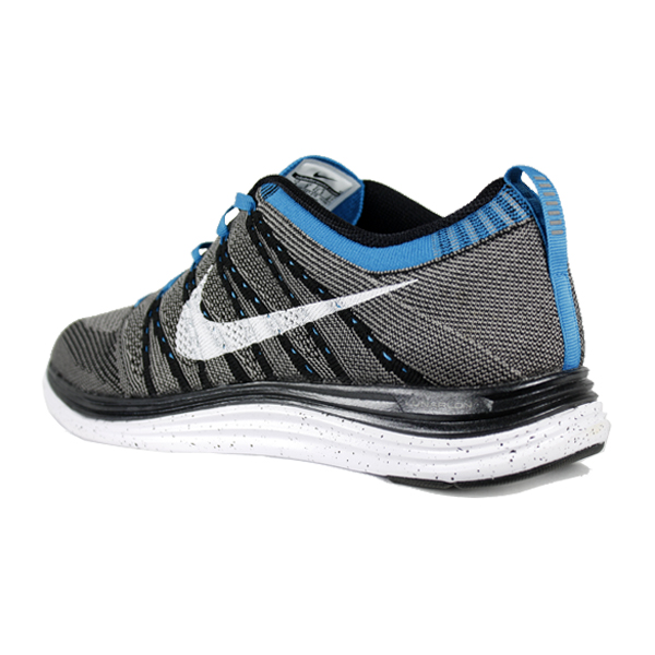 86f86bdbdef81 Nike Flyknit Lunar One+. Black  White   Light Charcoal   Neo Turquoise.  554887-010