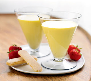 passion fruit and honey zabaglione recipe