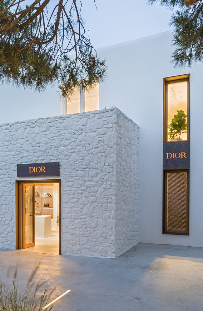 Dior Mykonos Pop-Up Store und Kapsel Kollektion Sommer 2018