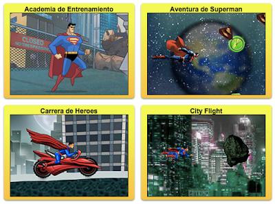 nuevos juegos de superman online