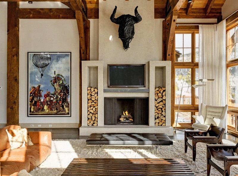 Rangement bois de chauffage pour l int rieur et pour l - Rangement bois idees creatives pour linterieur et lexterieur ...